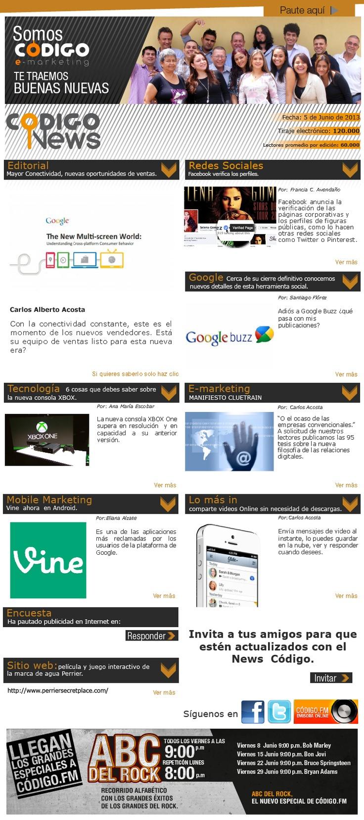 Lo último en e-mailing, redes, mobile marketing y tecnología con nuesro news #67