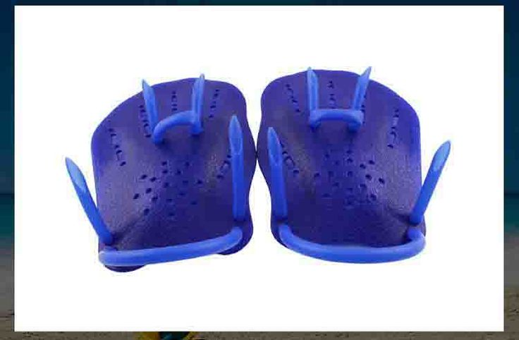train swimming hand flapper hard material child swimming practice Swimming strength enhancement