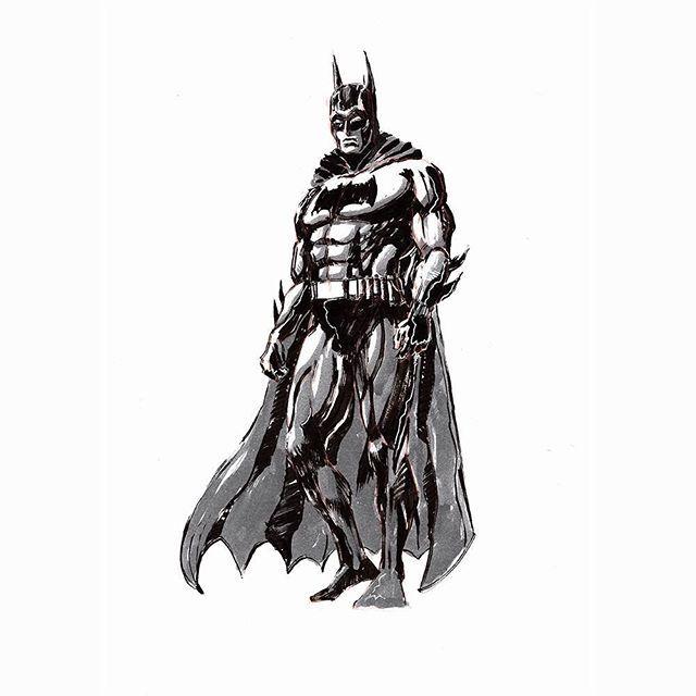 *fanart* It's Batman! Ink sketch series for GammaCon this weekend. I'll have some prints available soon | @gammacon @arttitude_official . . . . . #batman #gammacon #deescomics #moleskine #conceptart #artemperor #artist #art #art_spotlight #art_collective #art_empire #streetart #socialmedia #worldofartists #photography #artistic #worldofpencils #drawing_feature #drawings #drawing #photooftheday #artsanity #artoftheday #artsy #artofvisuals by @mattheathillustration.  #logo #graphicdesign…