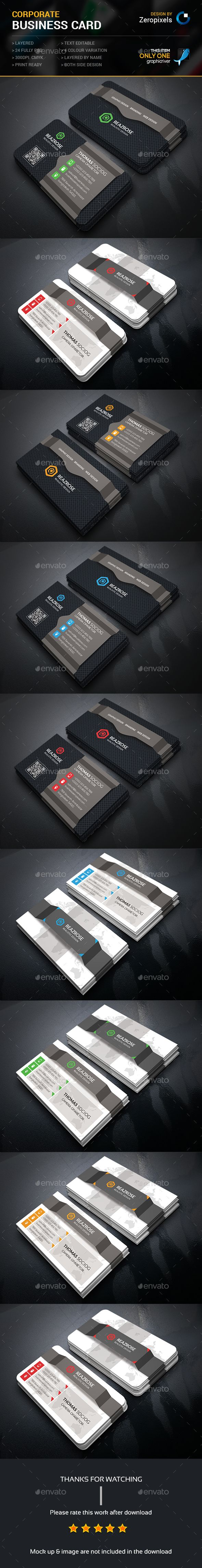 Corporate Business Card Bundle Templates PSD. Download here: http://graphicriver.net/item/corporate-business-card-bundle/16163852?ref=ksioks