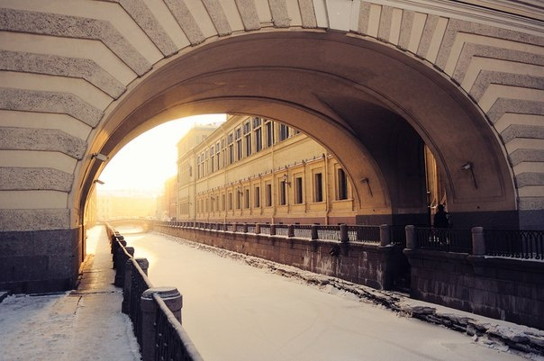 Winter Canal is a canal in Saint Petersburg, Russia, connecting Bolshaya Neva with Moika River in the vicinity of Winter Palace.