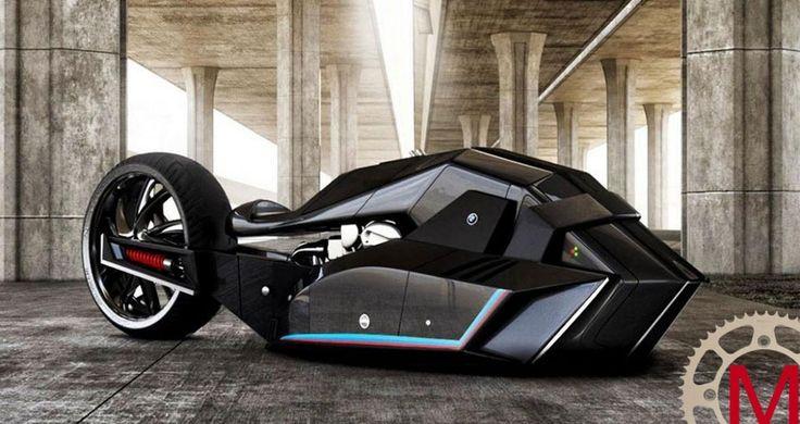 Концепт нового мотоцикла под брендом BMW