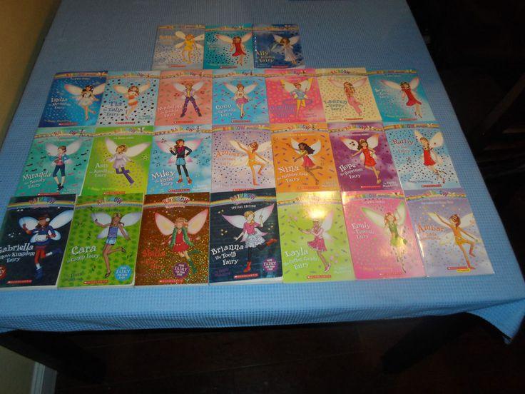 Lot 24 RAINBOW MAGIC FAIRY Books +4 SPECIAL EDITION Daisy Meadows Teacher School
