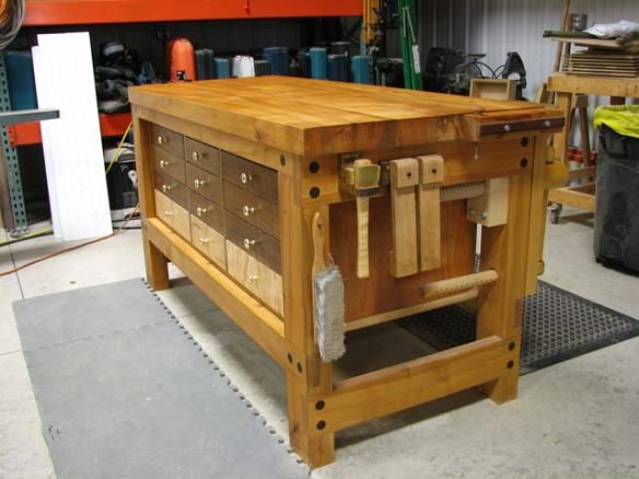 Excellent Video Workshop Ultimate Shaker Workbench By Fine Woodworking Editors