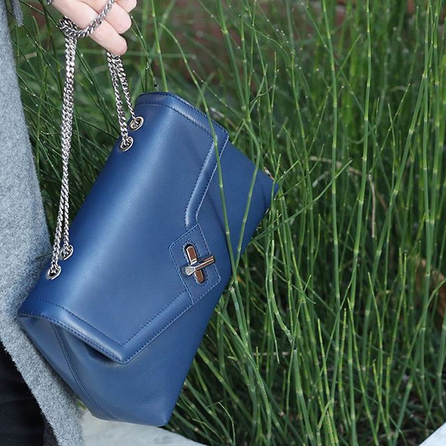 Coming to the online store this week the ela mini DN bag in navy #preview www.elabyela.com #elahandbags #humbleluxury #new #minidnbag