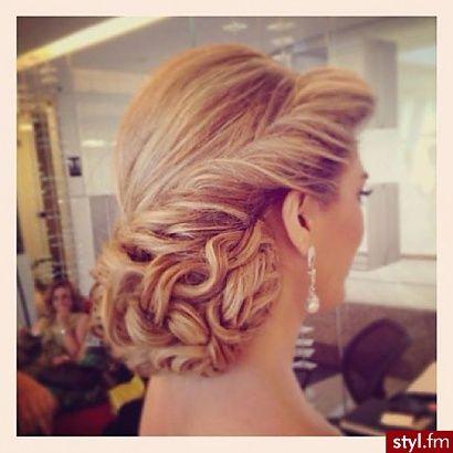 fryzura ślubna-trendy 2014