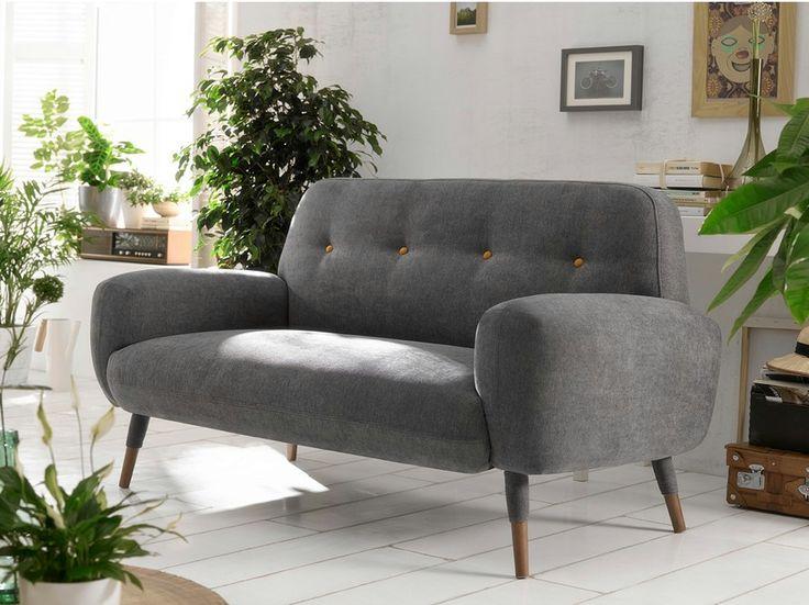 Upholstered 2 seater sofa MONA | Reyes Ordoñez