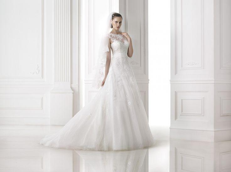 Meda - Pronovias - Esküvői ruhák - Ananász Szalon - esküvői, menyasszonyi és alkalmi ruhaszalon Budapesten
