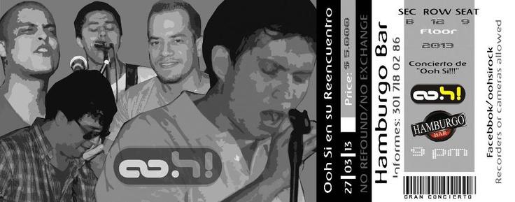 Esta noche habrá reencuentro de OhSi! en Hamburgo Bar http://www.mirolo.net/Medellin/Hamburgo.aspx
