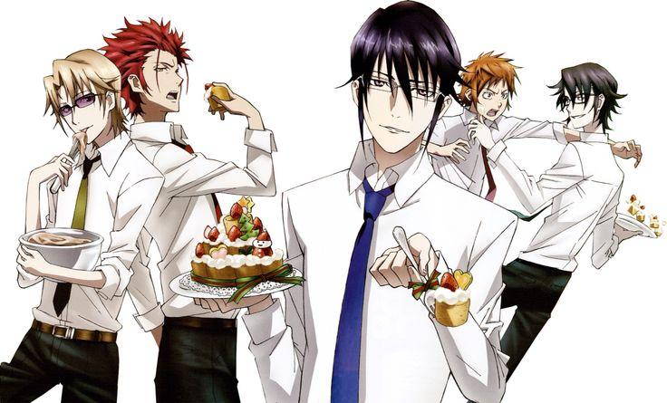 Anime Guy Eating Cake