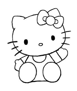 Today's tutorial is going to be how to draw Hello Kitty. If you remember, many months ago I posted a video tutorial on how to draw Hello Kitty. However since I prefer my blog to be made up mostly of my own tutorials, I thought I should redo this one now that I have had a little more time on  my hands. Let's get started!