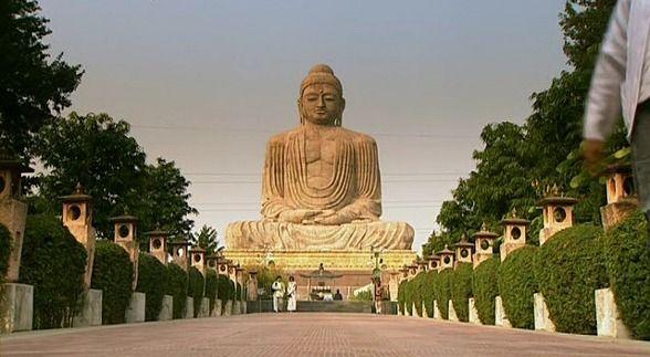 돌 부처님(석가모니)의 정원