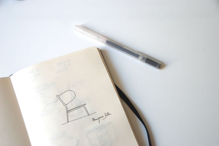 Croquis du fauteuil swlm signé Margaux Keller !