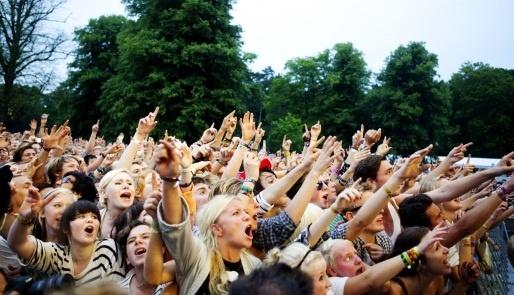 Sommarens musikfestivaler