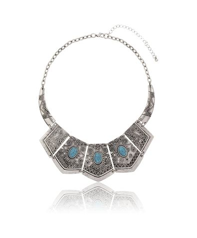Gina Tricot -Shield necklace