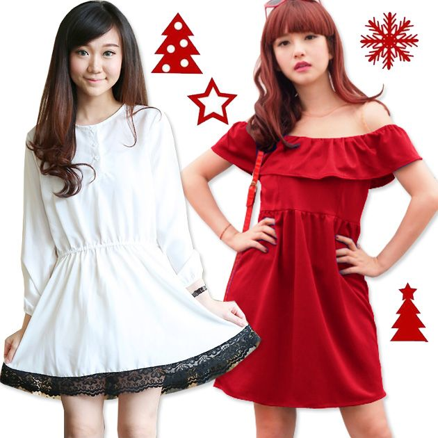 Korean Style Dress Murah Meriah