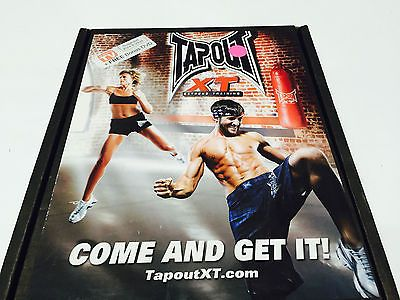 TapouT XT TV Special XT and Leg Bands/Diet Plan/Workout Chart 1 12 DVDs and 1 Bo