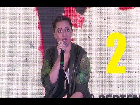 Sonakshi Sinha at song launch of AKIRA movie | PART 2