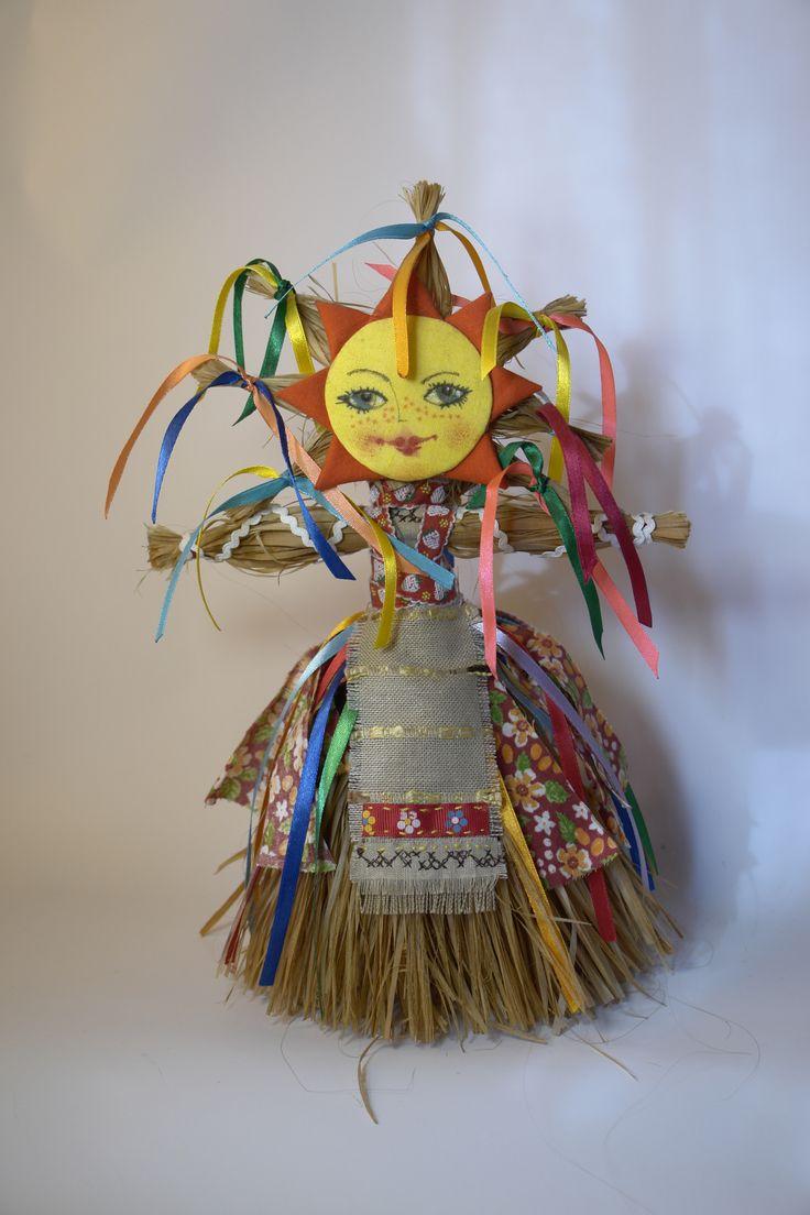 #ДариКуклу. viber: 8-922-20-37-144. Кукла Масленица - пожалуй, единственная кукла у которой есть лик, потому что, это Солнышко.