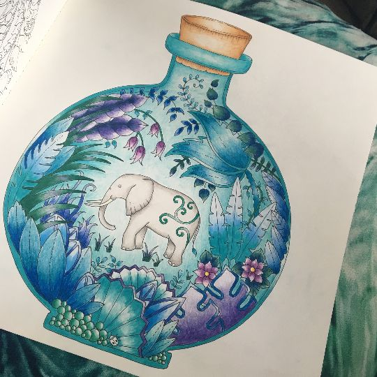Take a look at this great artwork on Johanna Basford's Colouring Gallery!