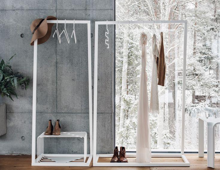 BEdesign - Lume coat stands, shoe stands and hangers