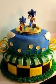 Resultado de imagen para torta de sonic the hedgehog