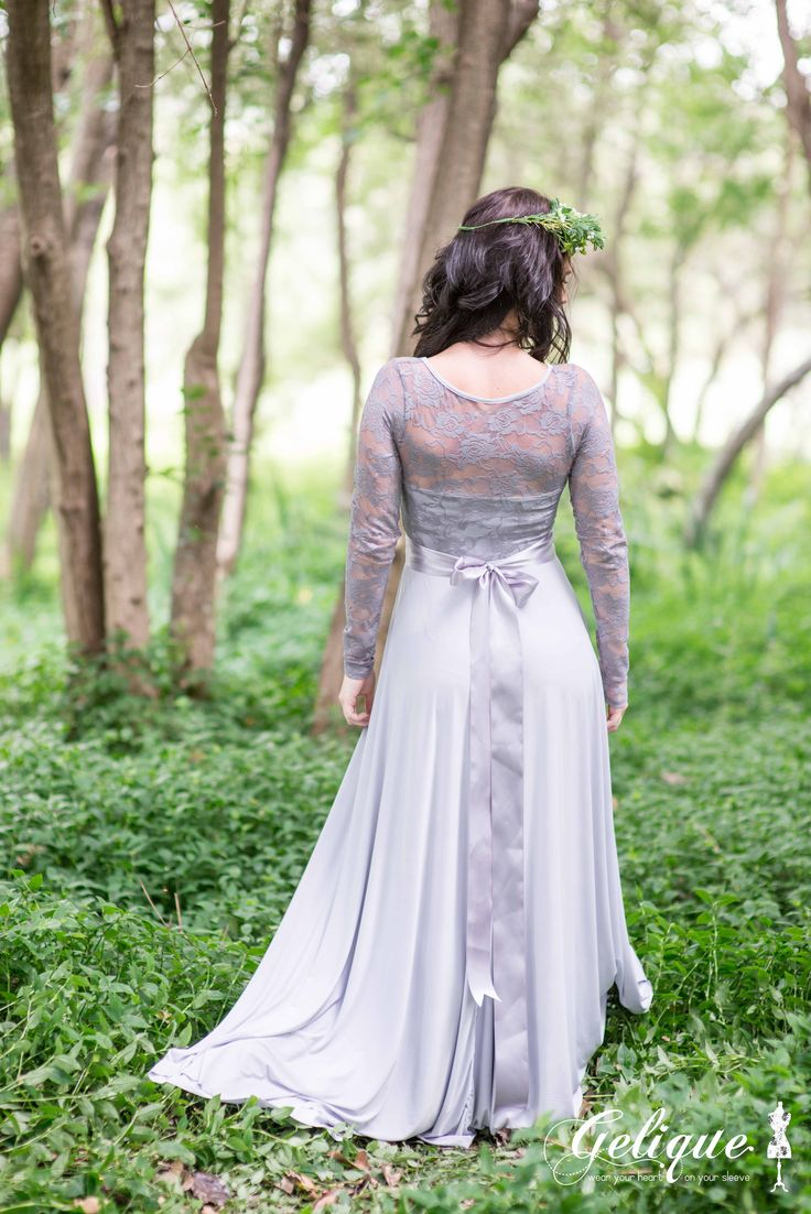 The Gelique Daisy dress has an option of having the whole back covered with Lace. This Dress also has an option with sleeves