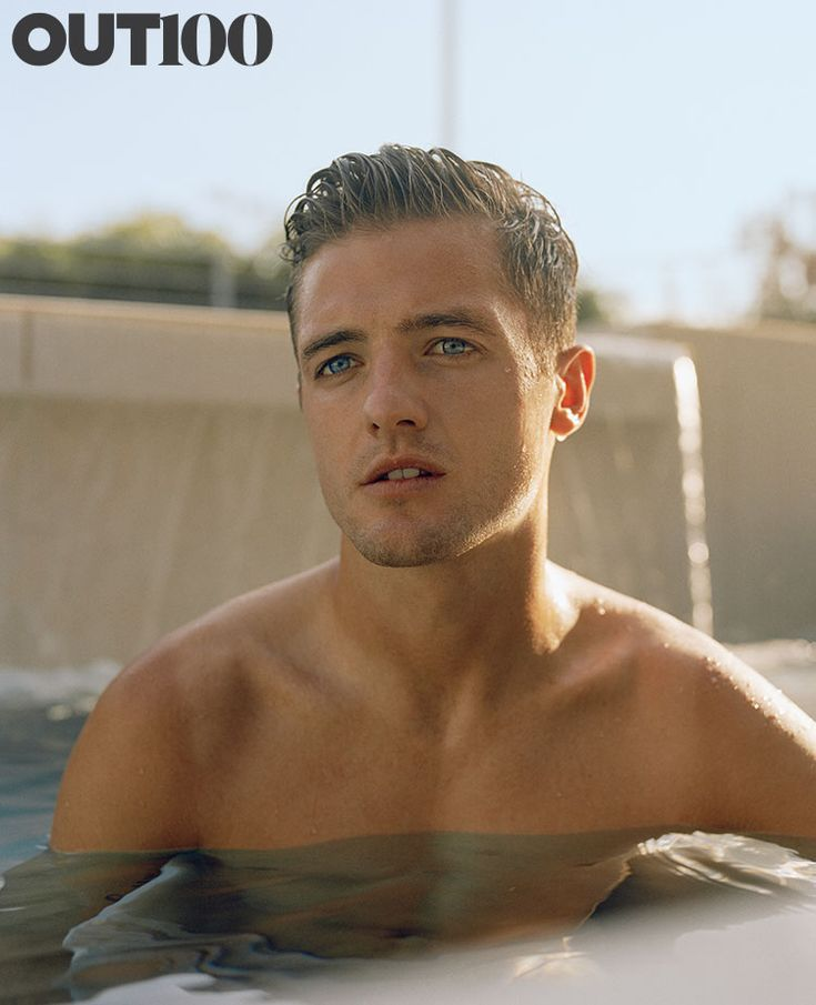 Robbie Rogers. Photographed by Ryan Pfluger in Hollywood.