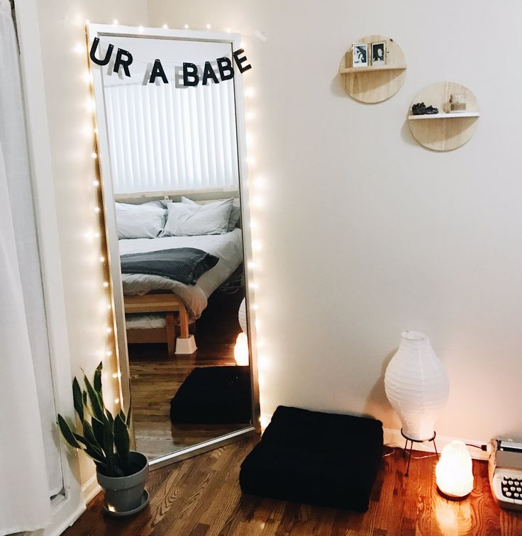 """LOVE THIS FOR A MIRROR WITH THE """"you're a babe""""!!!"""