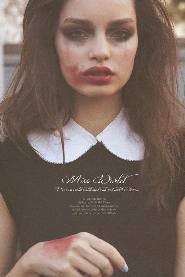 MISS WORLD - KALTBLUT MAGAZINE| gabriell photography