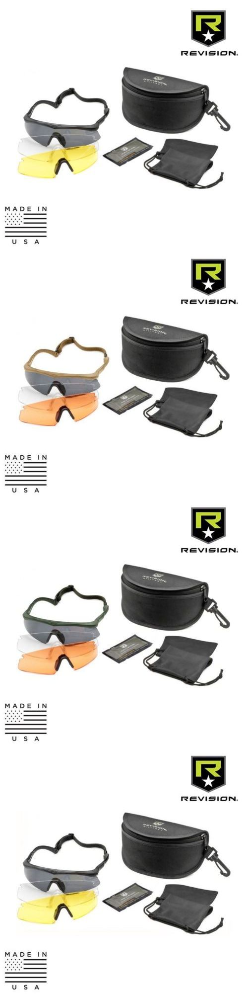 Shooting and Safety Glasses 151549: Revision Military Sawfly Eyewear System - Deluxe Kit -> BUY IT NOW ONLY: $99.99 on eBay!