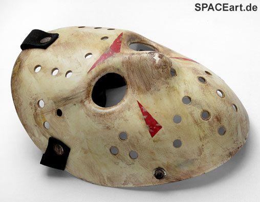 Freitag der 13. (2009): Jason Voorhees Maske, Maske ... https://spaceart.de/produkte/fdd008.php