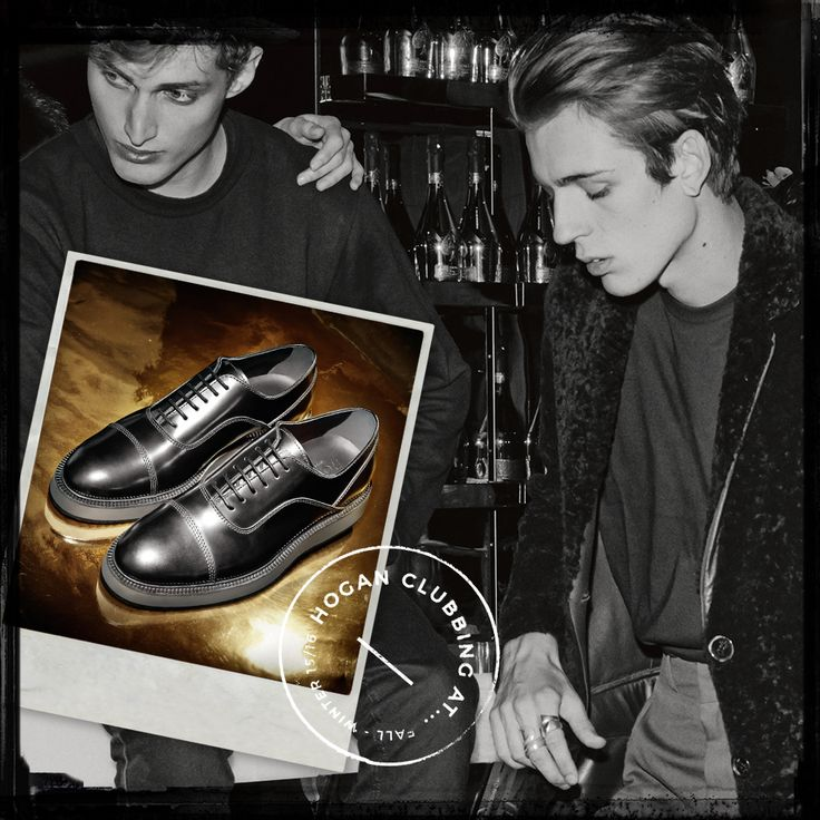 #HOGAN Dress X shoes in black leather from the Fall-Winter 2015/16 Men's Collection. #HoganClub #HoganClubbingAt