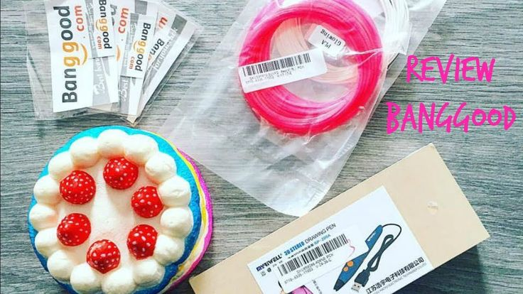 Review 3d Pen   Recensione  Penna 3d   + Squishy + Spinner
