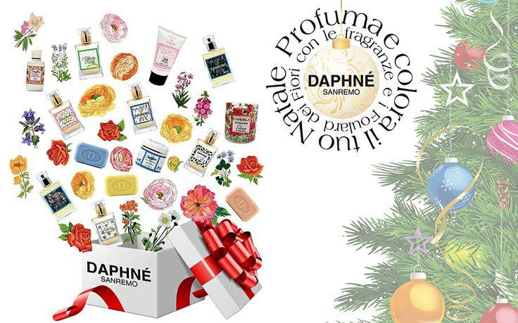 Profuma il tuo #regalo di #Natale2015 su www.daphne.it acquista con lo #sconto del 20% i nostri #foulard #profumi e #cosmetici dei fiori inserendo il #codepromo <<nataleprofumato>> fino al 18 Dicembre!