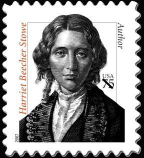 Literary Stamps: Stowe, Harriet Beecher (1811 – 1896)