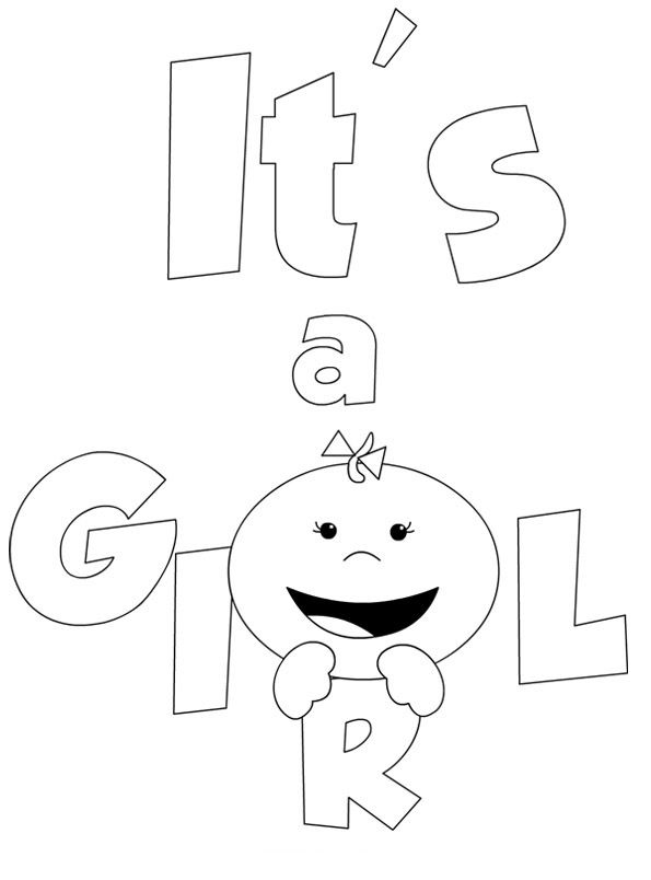Free Printable Baby Coloring Pages For Kids Baby Coloring Pages Coloring Pages For Girls Printable Coloring Pages
