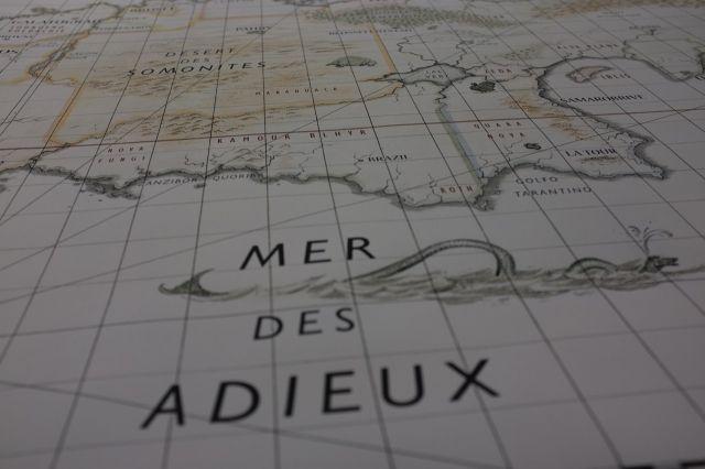 La géographie des pays imaginaires, ou comment se donner envie de retomber dans nos bouquins d'enfance.
