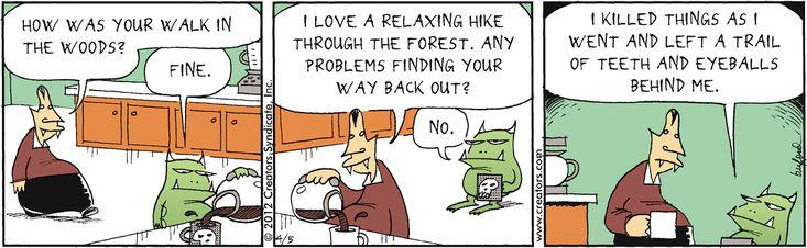 ❤ =^..^= ❤   Scary Gary Comic Strip, April 05, 2012 on GoComics.com