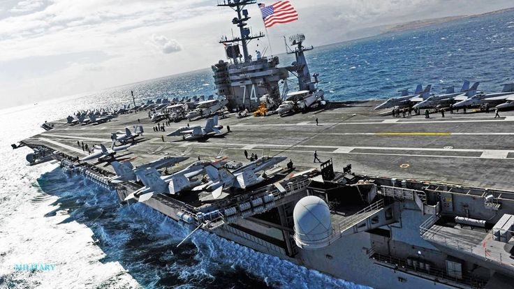 USS John C Stennis in the world's largest and supersonic aircraft flying...