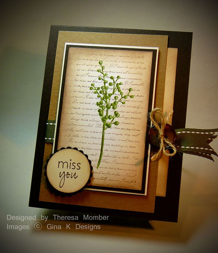 Hello! It's preview time at Gina K Designs and we some some amazing  stamp sets to share with you this week. First up today is Botanicals. I...