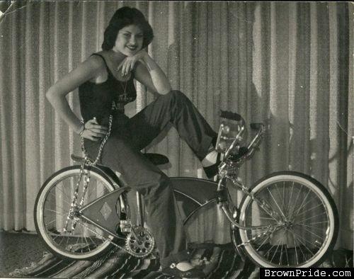 Old Shool Lowrider Bike Photo