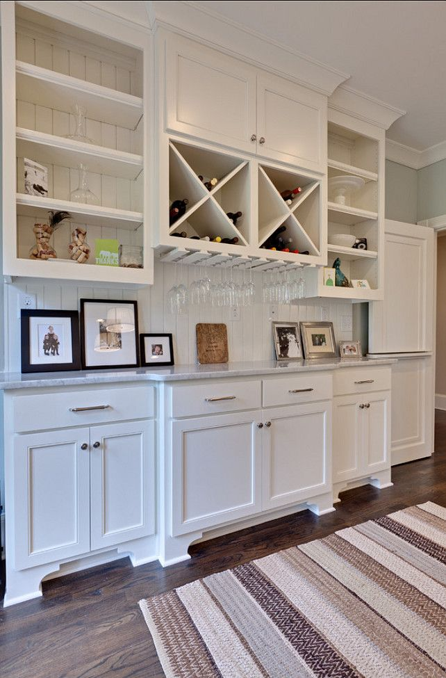 White Dove OC17 Benjamin Moore. Buffet In Dining RoomCabinets ...