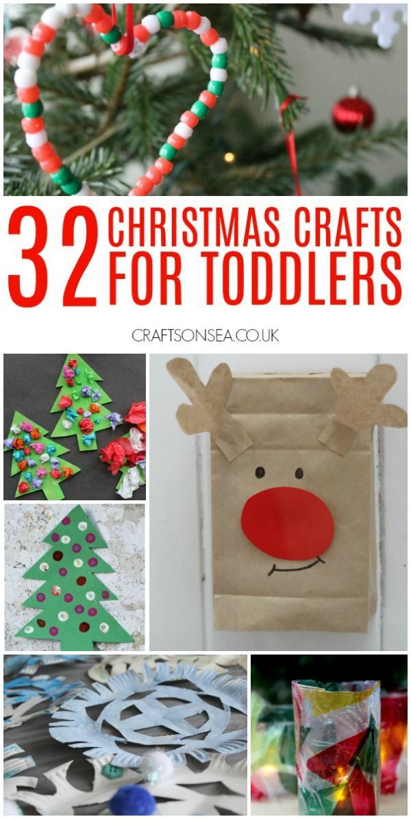 Easy Christmas Crafts For Toddlers Christmas Crafts For Toddlers Christmas Crafts Toddler Crafts