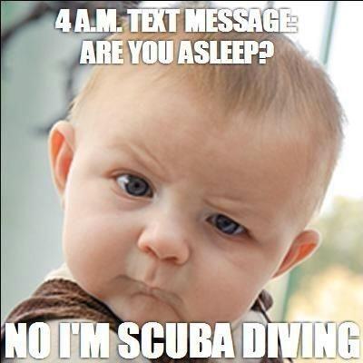 #baby #scubadiving
