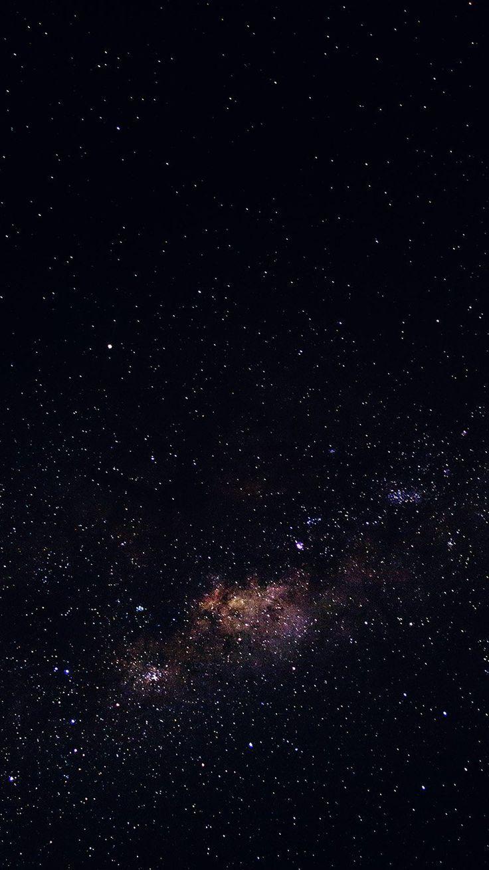 iPhone, Stars, Galaxy, Space, Black - Wallpaper