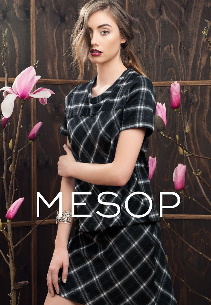 Autumn in here! #mesop #instore #harvard #check #newcollection