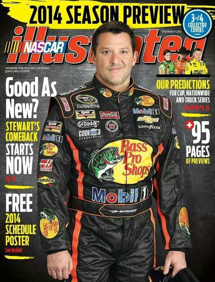 Nascar Illustrated Cover 2014