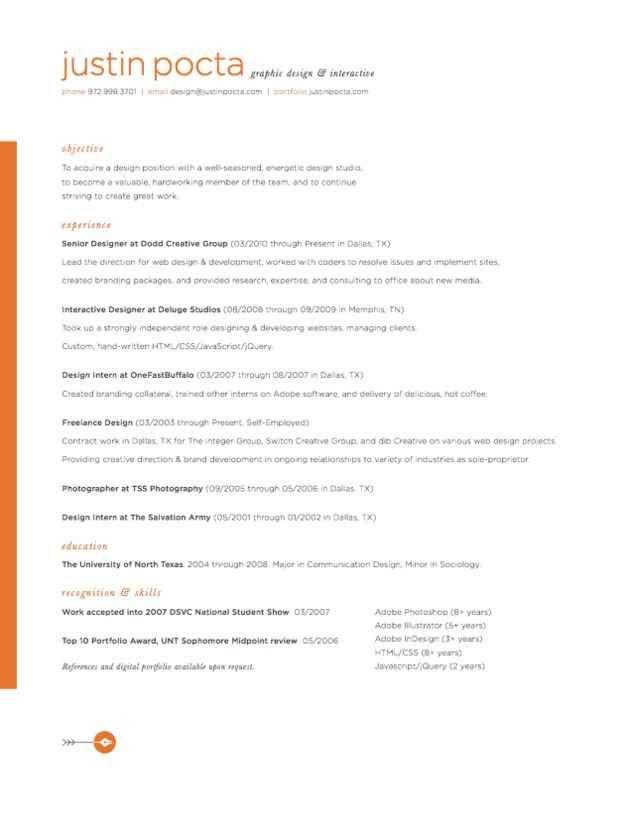 84 best Resume Templates images on Pinterest Resume cv, Resume - optimal resume acc
