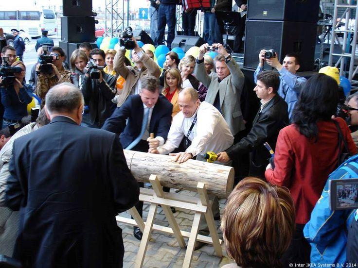 2007 – Hej Rumunijo! Robna kuća IKEA u Bukureštu, Baneasa je 253. robna kuća u 35. zemlji.